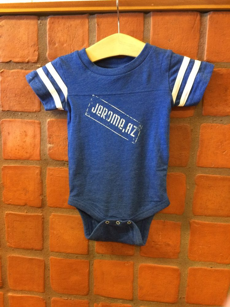 Baby Onesie With Logo On Back 2 Designs